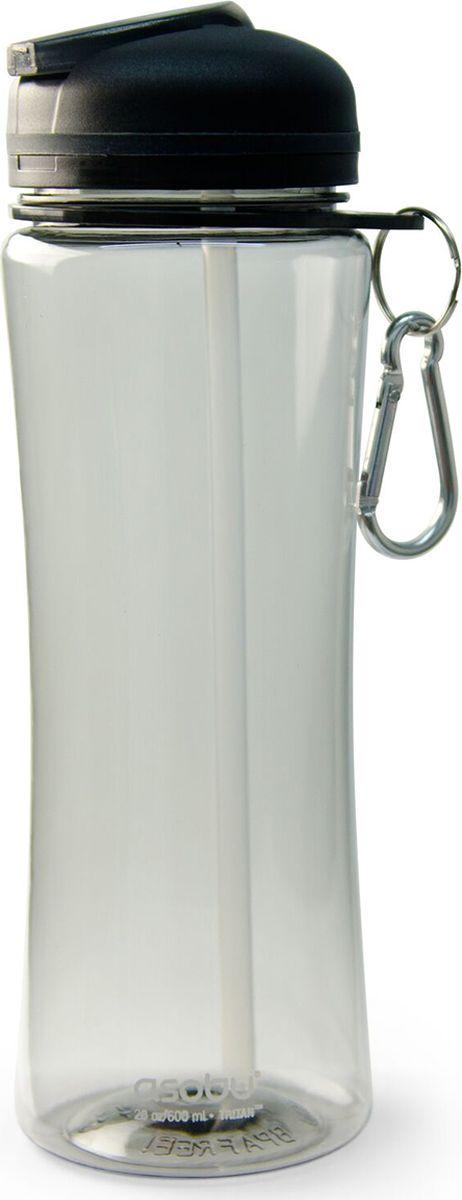 Бутылка Asobu Triumph sport bottle, цвет: серый, 720 мл бутылка asobu ice t 2 go цвет фиолетовый 400 мл