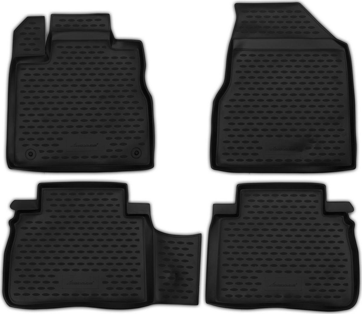 Коврики в салон автомобиля Novline-Autofamily, для Nissan Murano, 2008-2015, полиуретан, 4 штNLC.36.26.210kКачественный продукт, новый полимерный материал, антискользящий рельеф, идеальная форма, гигиенические сертификаты. Надежные коврики для вашего автомобиля.