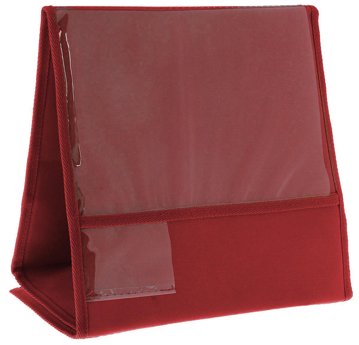 Табличка для животных  Заря-Плюс , выставочная, цвет: красный, 33 х 16 х 31 см - Клетки, вольеры, будки