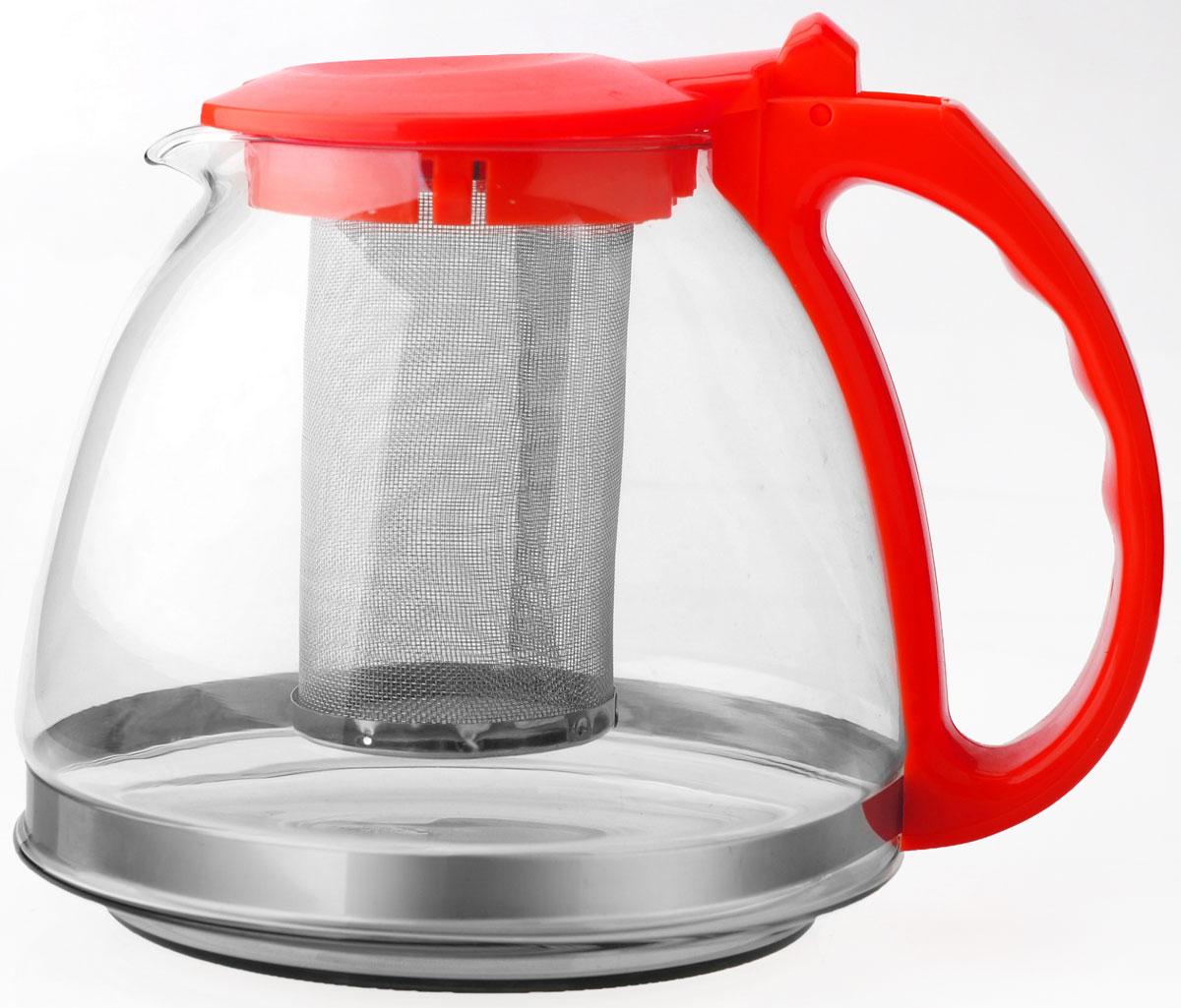 Стильный заварочный чайник отлично впишется в ваш интерьер. Благодаря фильтру заваривать в нем чай очень удобно!