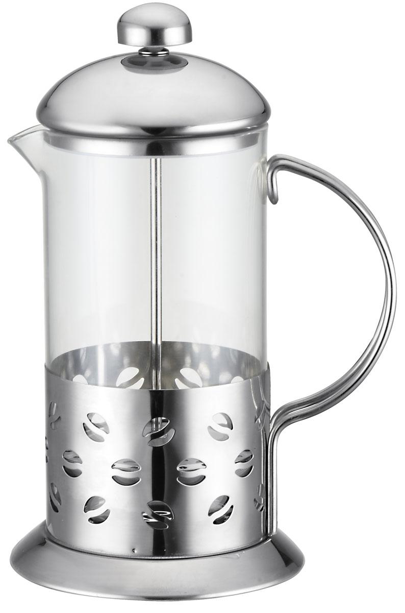 Френч-пресс Appetite Классик, 600 млSS-600Френч-пресс Appetite Классик выполненный из ударостойкого жаропрочного стекла ивысококачественной нержавеющей стали, практичный и простой в использовании. Засыпаячайную заварку под фильтр и заливая ее горячей водой, вы получаете ароматный чай соптимальной крепостью и насыщенностью. Остановить процесс заварки чая легко. Для этогонужно просто опустить поршень, и заварка уйдет вниз, оставляя вверху напиток, готовый купотреблению.Современный дизайн полностью соответствует последним модным тенденциям всоздании предметов бытовой техники.