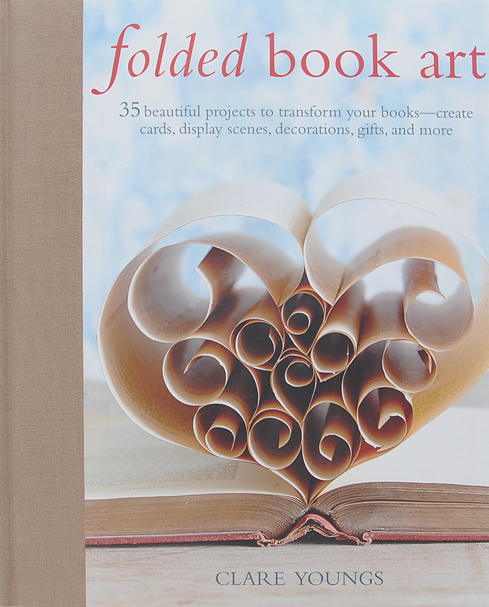 Folded Book Art managing projects made simple