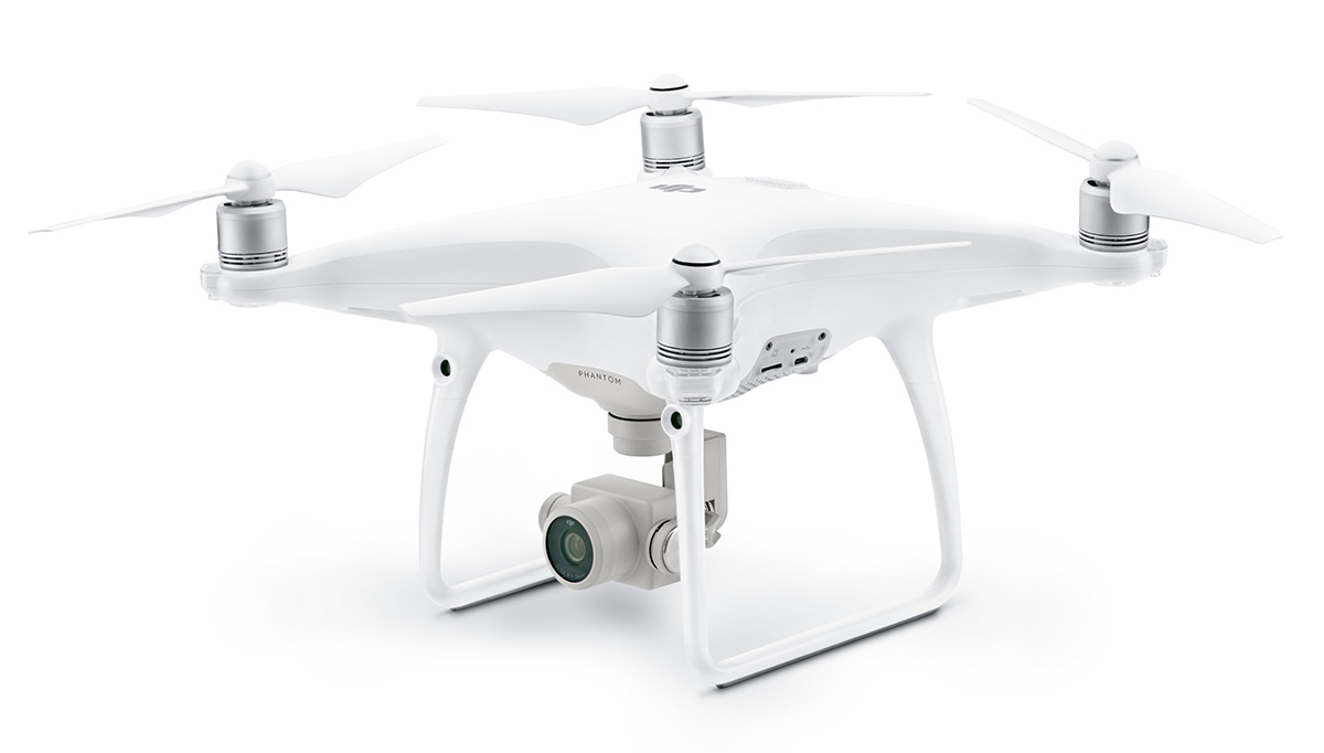 DJI Квадрокоптер на радиоуправлении Phantom 4 Advanced - Радиоуправляемые игрушки