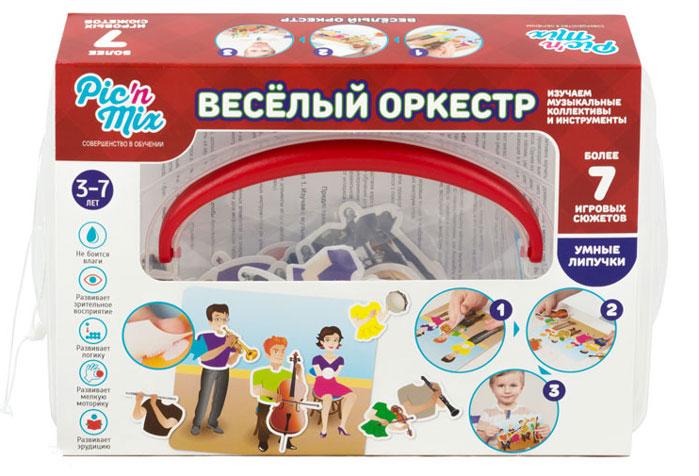 Pic&Mix Обучающая игра Веселый оркестр песочницы pic n mix песочница крыло бабочки