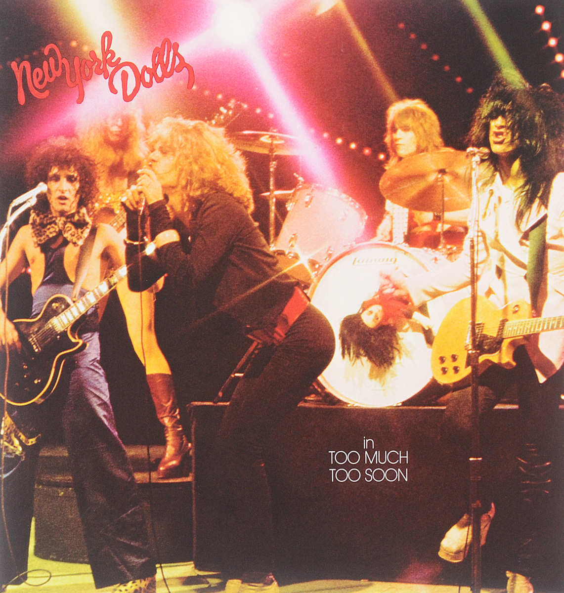 New York Dolls New York Dolls. Too Much Too Soon (LP) snsd sunny lee soon kyu autographed signed original photo 4 6 inches collection new korean freeshipping 03 2017