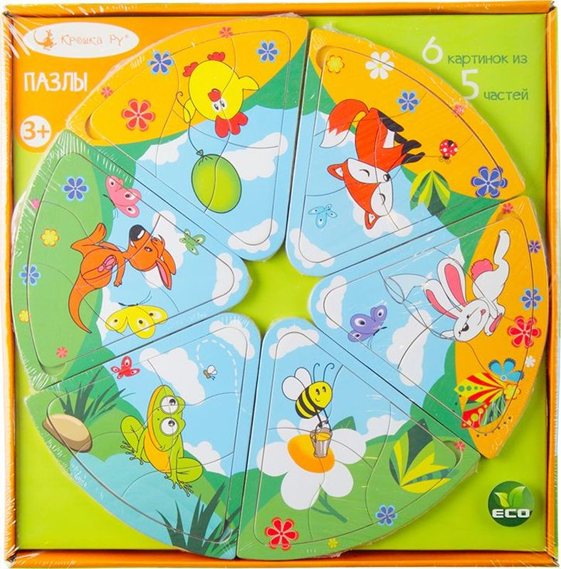 Крошка Ру Пазл для малышей книги крошка ру книга сказки вместе с крошкой ру