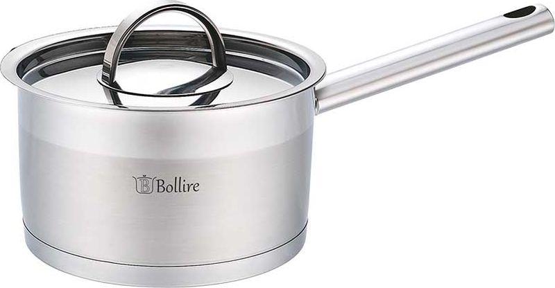 Ковш Bollire, с крышкой, 1,8 л. Диаметр 16 смBR-2301Ковш Bollire изготовлен из высококачественной нержавеющей стали. На внутренней стороне имеется шкала литража, что обеспечивает дополнительное удобство при приготовлении пищи. Капсулированное дно с вплавленной алюминиевой прослойкой позволяет равномерно распределять и значительно дольше сохранять тепло в посуде, а также предотвращает пригорание пищи и обеспечивает более быстрое приготовление блюд с сохранением вкусовых и полезных свойств продуктов.Удобная ненагревающаяся ручка, выполненная из нержавеющей стали, надежно крепится к корпусу ковша. Крышка из нержавеющей стали плотно прилегает к краю кастрюли, предотвращая проливание жидкости и сохраняя аромат блюд. Ковш подходит для использования на всех типах плит, включая индукционные.