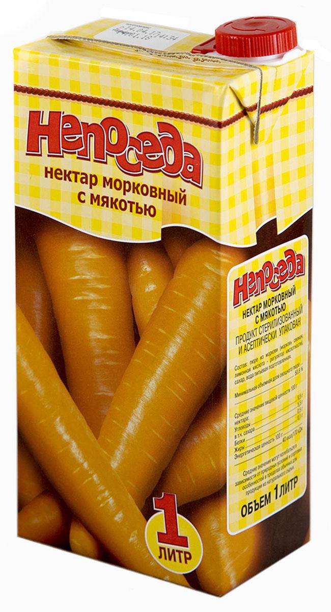 Непоседа нектар морковный с мякотью, 1 л4810821024606Овощные и плодово-ягодные соки богаты витаминами, фенолиевыми соединениями, минеральными веществами, обеспечивают организм фруктовыми сахарами, которые хорошо всасываются и служат источником глюкозы для питания головного мозга; органическими кислотами, способствующими оптимальному функционированию органов пищеварения; калием и железом для правильного функционирования вашего организма.Самые полезные соки - с мякотью. В них содержатся растительные волокна, что стимулирует двигательную активность кишечника, они являются источником витаминов, микроэлементов, клетчатки, фитонцидов, органических кислот, снижают уровень холестерина в крови и нормализуют работу желудочно-кишечного тракта.