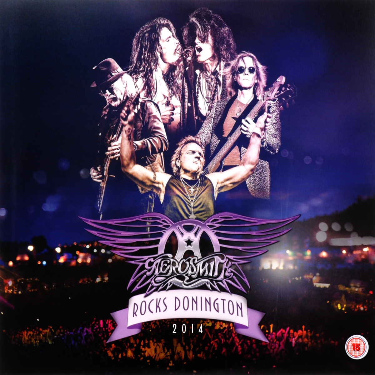 """Aerosmith"" Aerosmith. Rocks Donington 2014 (3 LP + DVD)"
