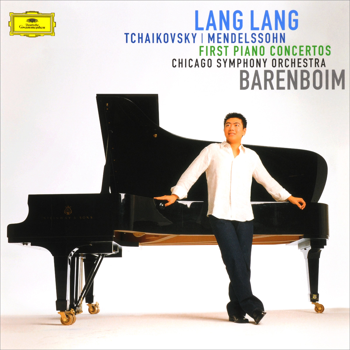 Ланг Ланг,Chicago Symphony Orchestra,Дэниэл Баренбойм Lang Lang. Tchaikovsky / Mendelssohn. First Piano Concertos (LP) карабин edelweiss edelweiss z103 steel oval triple action gate