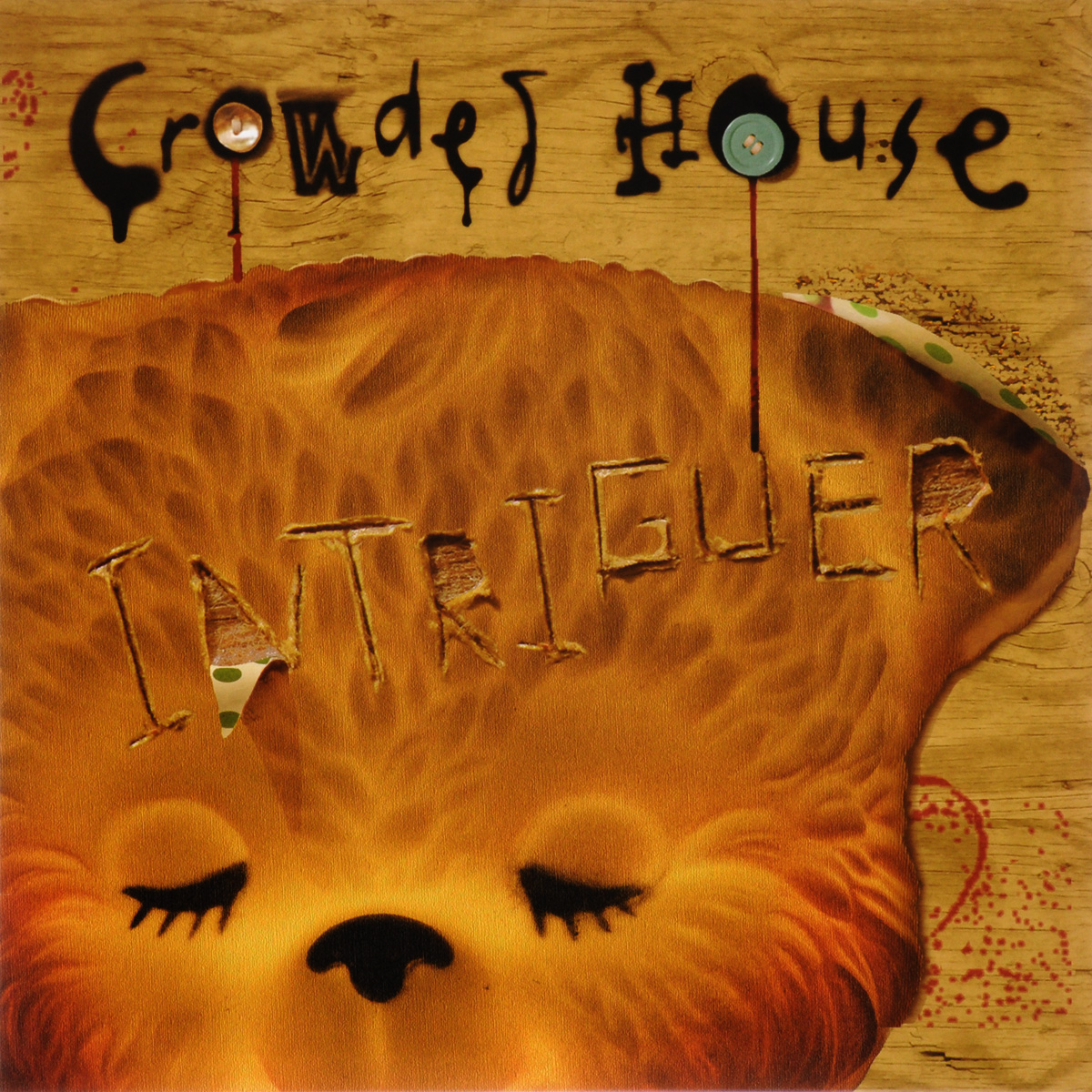 Crowded House Crowded House. Intriguer (LP) crowded house crowded house intriguer lp