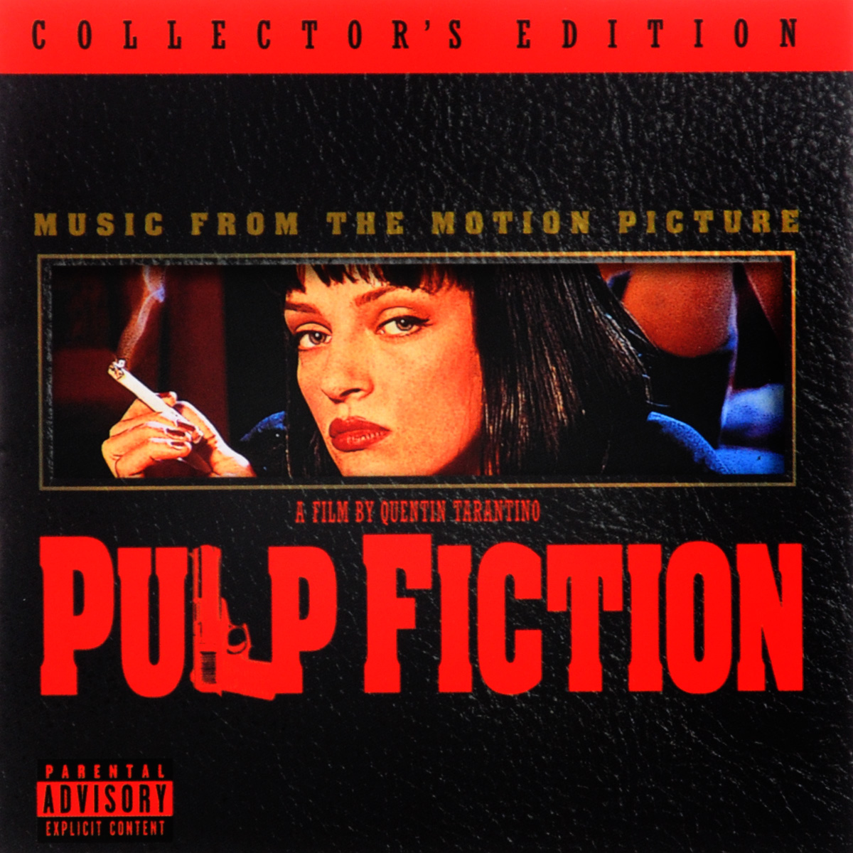 Pulp Fiction. Music From The Motion Picture. Collector's Edition music from the miramax motion picture good will hunting 2 lp