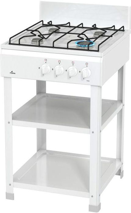 Flama AVG 1402 W, White плита газовая