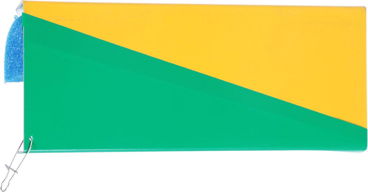 Планер Blind Metal Planer, правый, цвет: желтый, зеленый, синийBLD-12039_желтый, зеленый, синийПравый планер Blind Metal Planer - выполненный из стали, выдерживает даже крупные воблеры. Рыболовная снасть окрашена прочной водостойкой и ударопрочной эмалью. Изделие отводит приманку от лодки на 5-10 метров, что позволяет использовать большее количество снастей и существенно расширить зону ловли.Длина планера: 25 см.