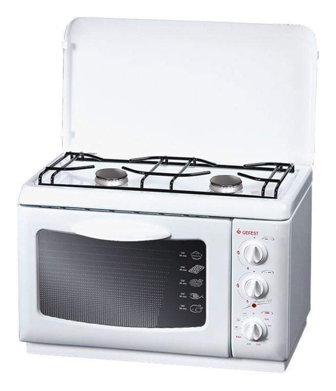 Gefest ПГЭ 120, White плита комбинированная комбинированная плита deluxe 506031 01 гэ крышка