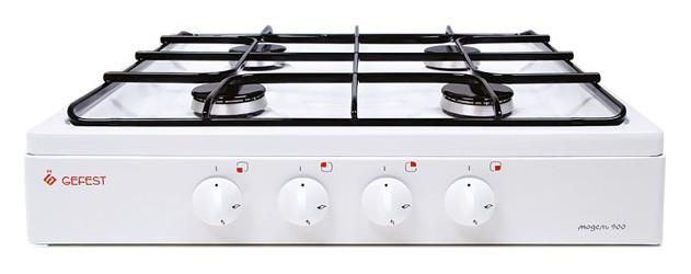 Gefest ПГ 900, White плита газовая настольная - Плиты