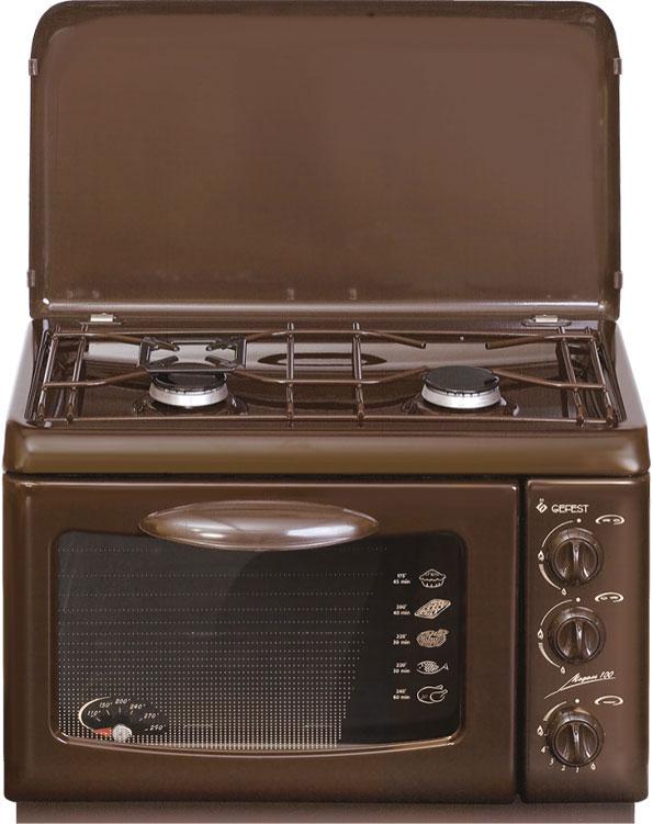 Gefest ПГ 100 K19, Brown плита газовая настольная