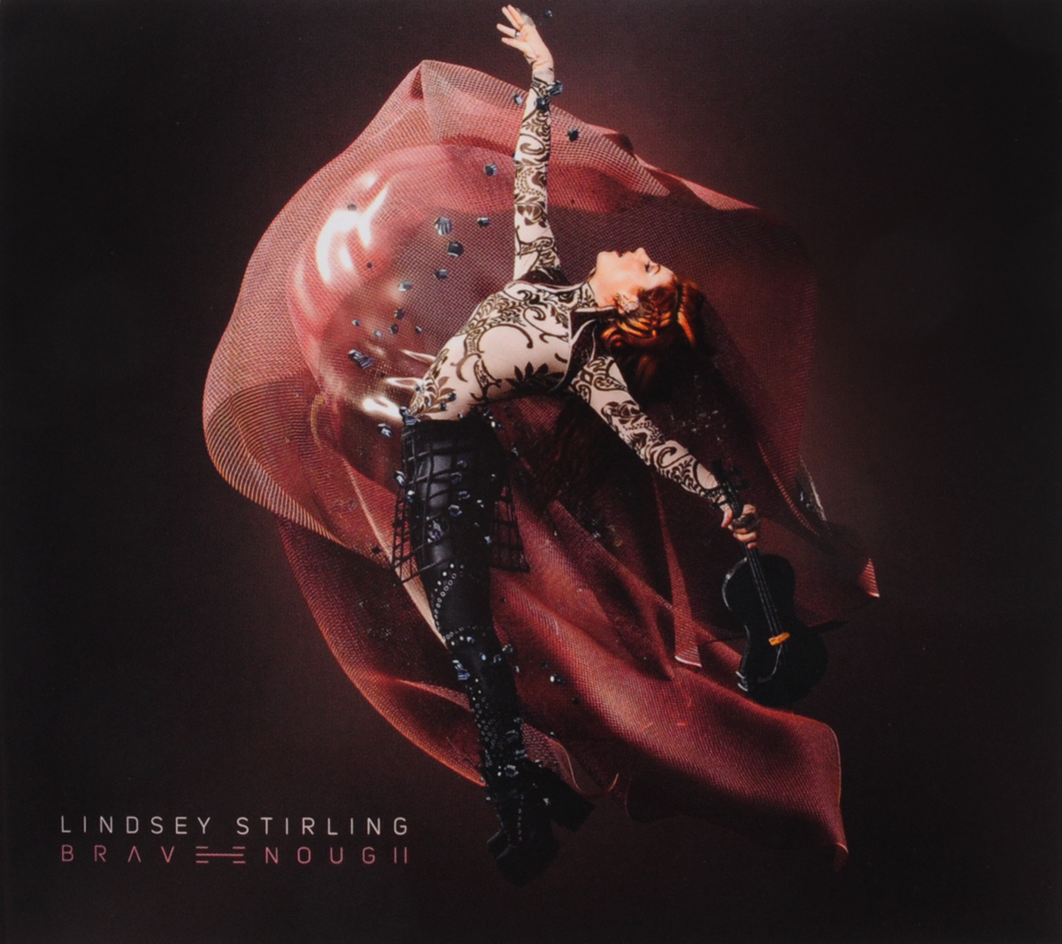 Линдси Стирлинг Lindsey Stirling. Brave Enough cd lindsey stirling warmer in the winter
