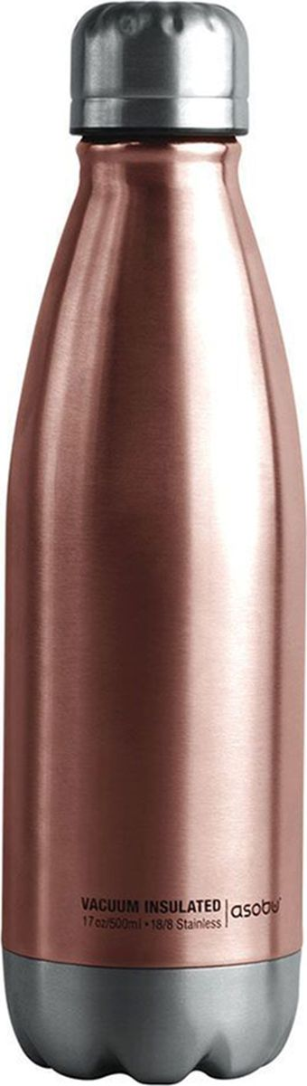 Термобутылка Asobu  Central Park Travel Bottle , цвет: медный, 0,51 л - Туристическая посуда
