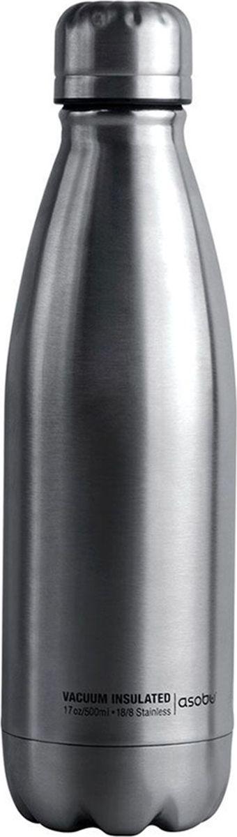 Термобутылка Asobu Central Park Travel Bottle, цвет: стальной, 0,51 лSBV17 silverТермобутылка Asobu Central Park Travel Bottle - современная, практичная и экологичная.Central Park является одной из самых инновационных туристических бутылок на рынке сегодня. Гладкий, обтекаемый дизайн, сочетание матовых и глянцевых поверхностей, большой объем - маст-хэв на работе, в путешествиях и школе.Прочная 18/8 конструкция из нержавеющей стали, вакуумная изоляция и двойные стенки позволяют держать напитки горячими в течение 8 часов и холодными в течение 24 часов.Высота : 26 смДиаметр : 8 см