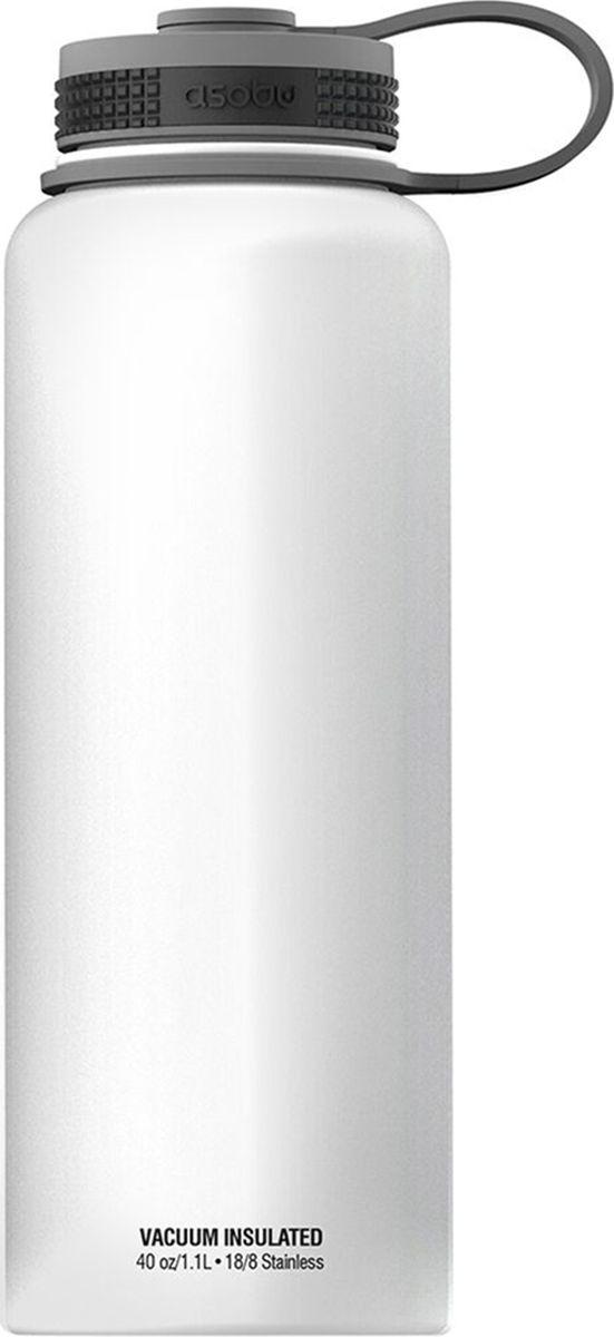 Термобутылка Asobu  The Mighty Flask , цвет: белый, 1,1 л - Туристическая посуда
