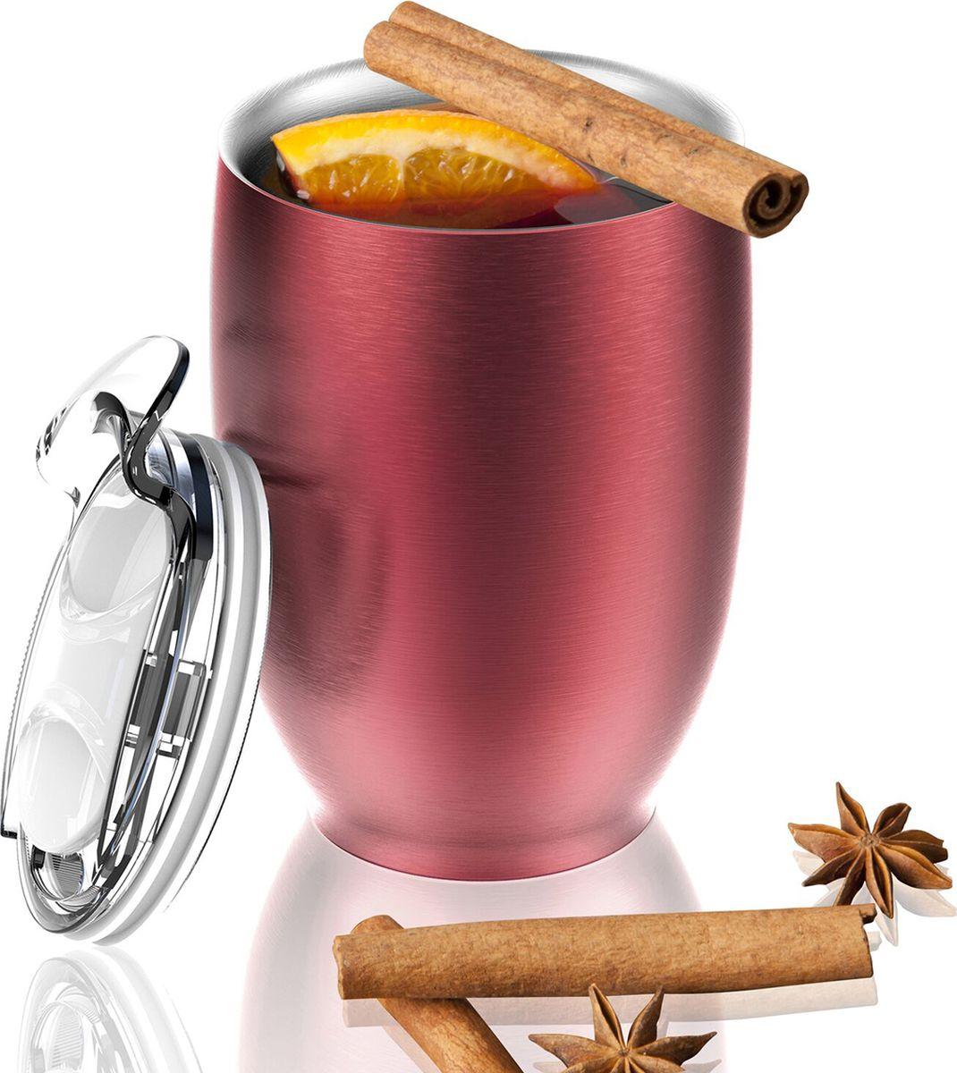 Термокружка Asobu Imperial Beverage, цвет: красный, 300 млVIC3 redТермокружка Asobu Imperial Beverage принадлежит к тому типу кружек, которые мы используем дома или на работе. Однако, Imperial beverage обладает рядом преимуществ, выделяющих ее среди прочих.Во-первых, Imperial beverage -это термокружка с двойными стенками и вакуумной изоляцией, которая будет дольше удерживать Ваш напиток горячим. Во-вторых, она изготовлена из 18/8 нержавеющей стали. Безвоздушное пространство между стенками не позволяет кружке нагреваться, и Вы можете пить горячий кофе, не дожидаясь, когда кружка остынет, она всегда остается холодной! В-третьих, крышка изготовлена из легкого и безопасного пластика, она разбирается на составные части, ее удобно мыть, как вручную, так и в посудомоечной машине. Также крышка имеет гибкую ребристую прокладку по краю, позволяющую лучше изолировать напиток. Да, и не обязательно полностью снимать крышку, чтобы попить: на крышке есть отверстие для быстрого доступа к напитку. И, наконец, у этой кружки такой привлекательный внешний вид!Материал: СтальВысота: 13 смДиаметр: 9 см