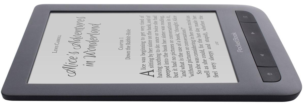 PocketBook 625 Basic Touch 2, Blackэлектронная книга PocketBook