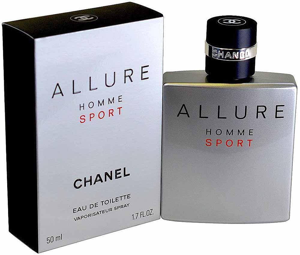 Chanel Allure Sport Homme Туалетная вода, 50 мл