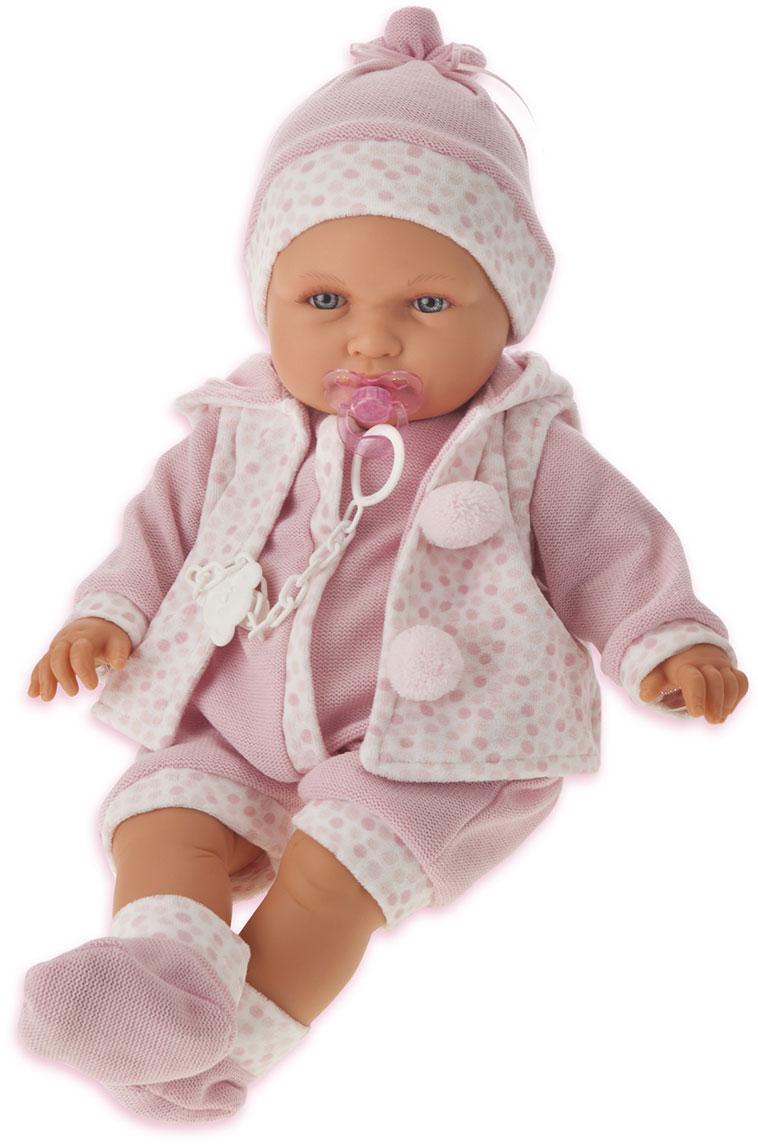 Juan Antonio Пупс Бенита цвет одежды розовый munecas antonio juan пупс белла цвет платья розовый