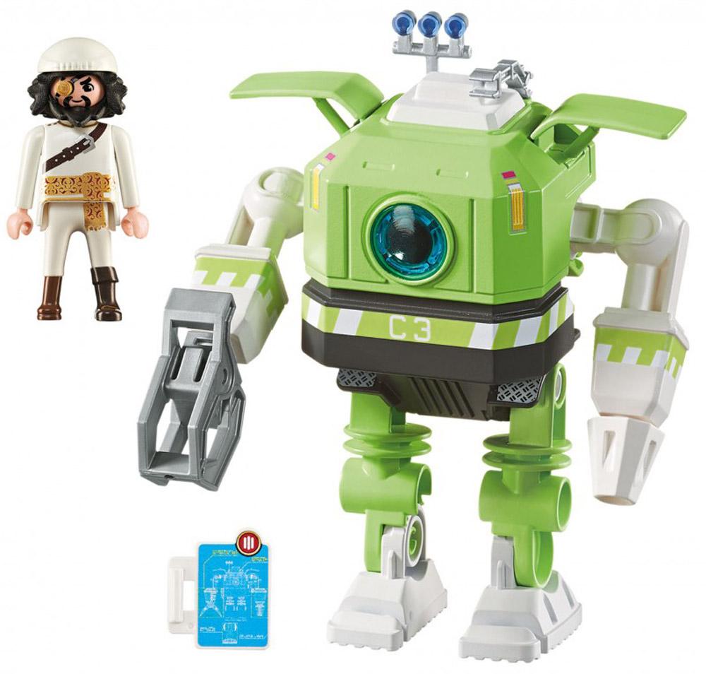 Playmobil Игровой набор Робот Клеано playmobil® playmobil 5289 секретный агент мега робот с бластером