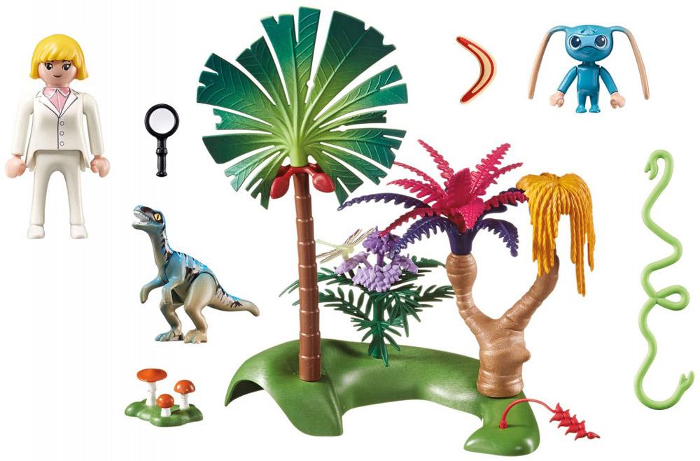 Playmobil Игровой набор Затерянный остров с Алиен и хищником playmobil игровой набор африка газели