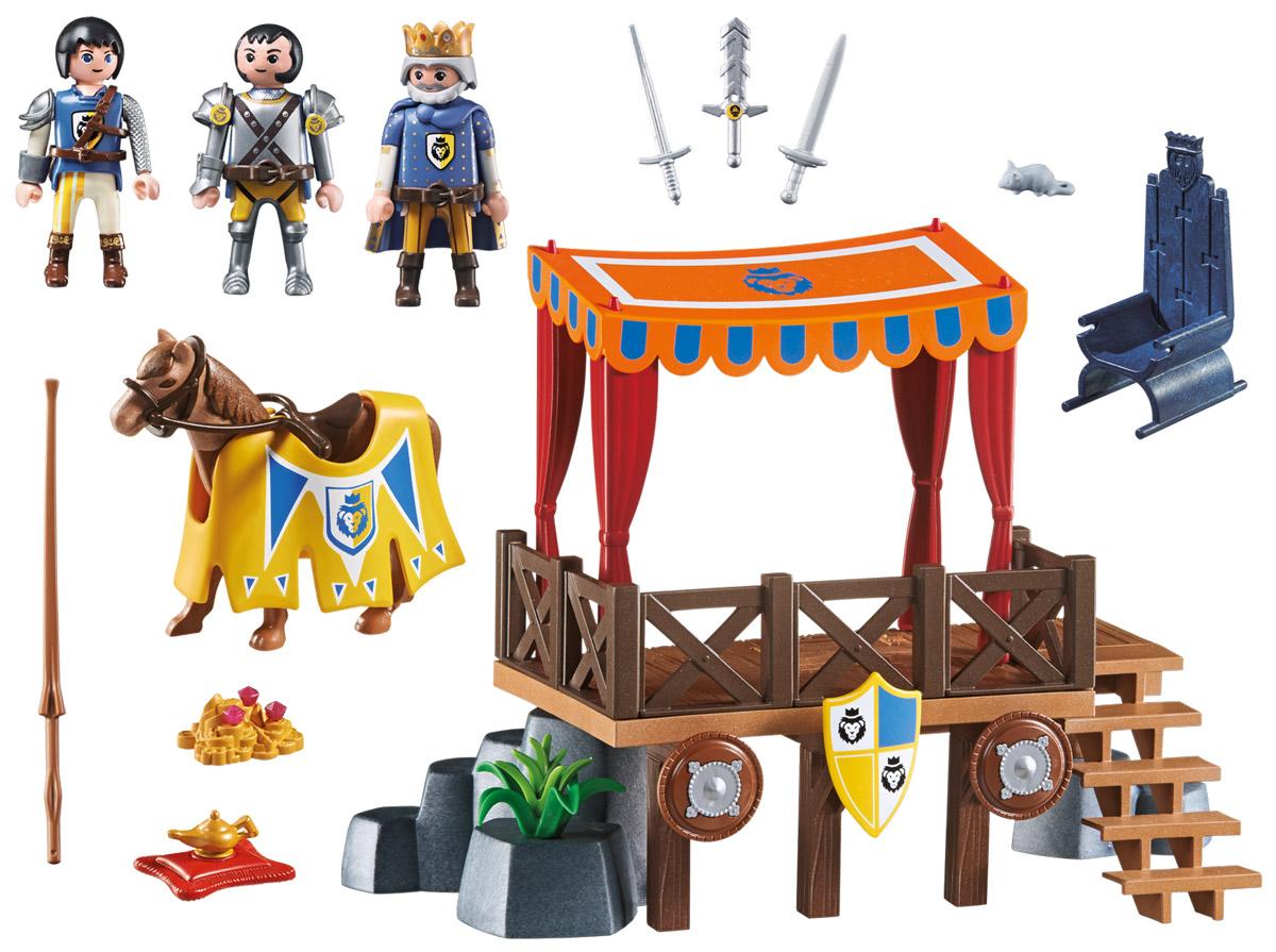 Playmobil Игровой набор Королевская Трибуна с Алексом игровые наборы playmobil супер4 королевская трибуна с алексом