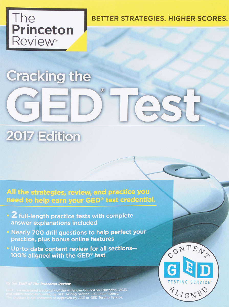 Cracking the GED Test: 2017 Edition