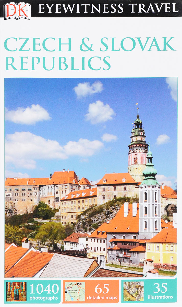 Czech and Slovak Republics dk eyewitness top 10 travel guide orlando