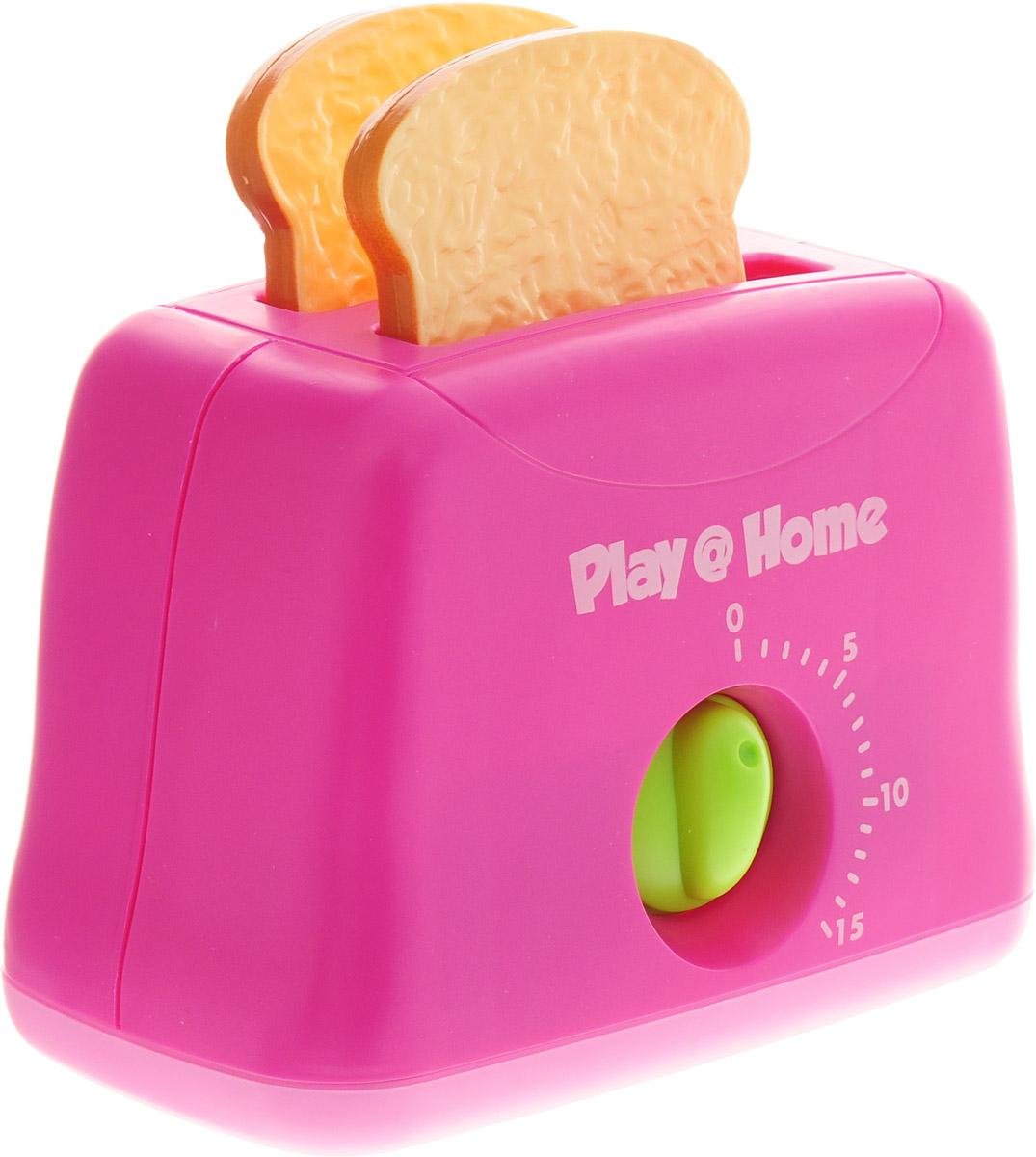 Keenway Игровой набор Тостер Try Me цвет розовый keenway игровой набор кофеварка и тостер keenway