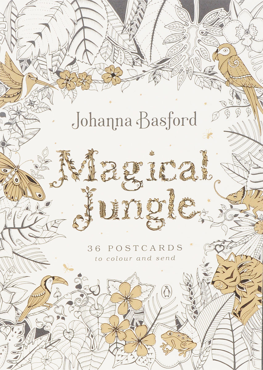 Magical Jungle: 36 Postcards to Colour and Send tigers and spies daisy colour reader