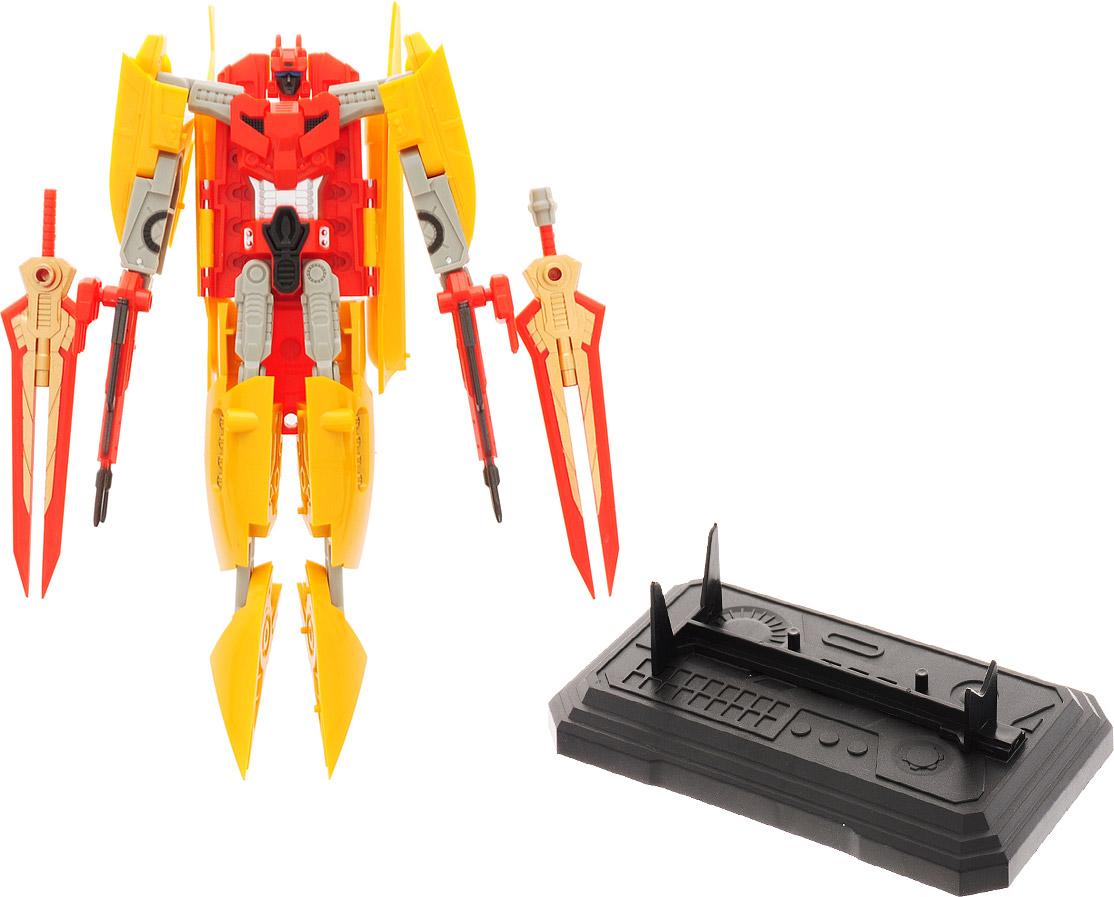 Склад уникальных товаров Робот-трансформер Авианосец XL цвет красный желтый склад уникальных товаров робот трансформер багги с пушкой m цвет черный зеленый коричневый