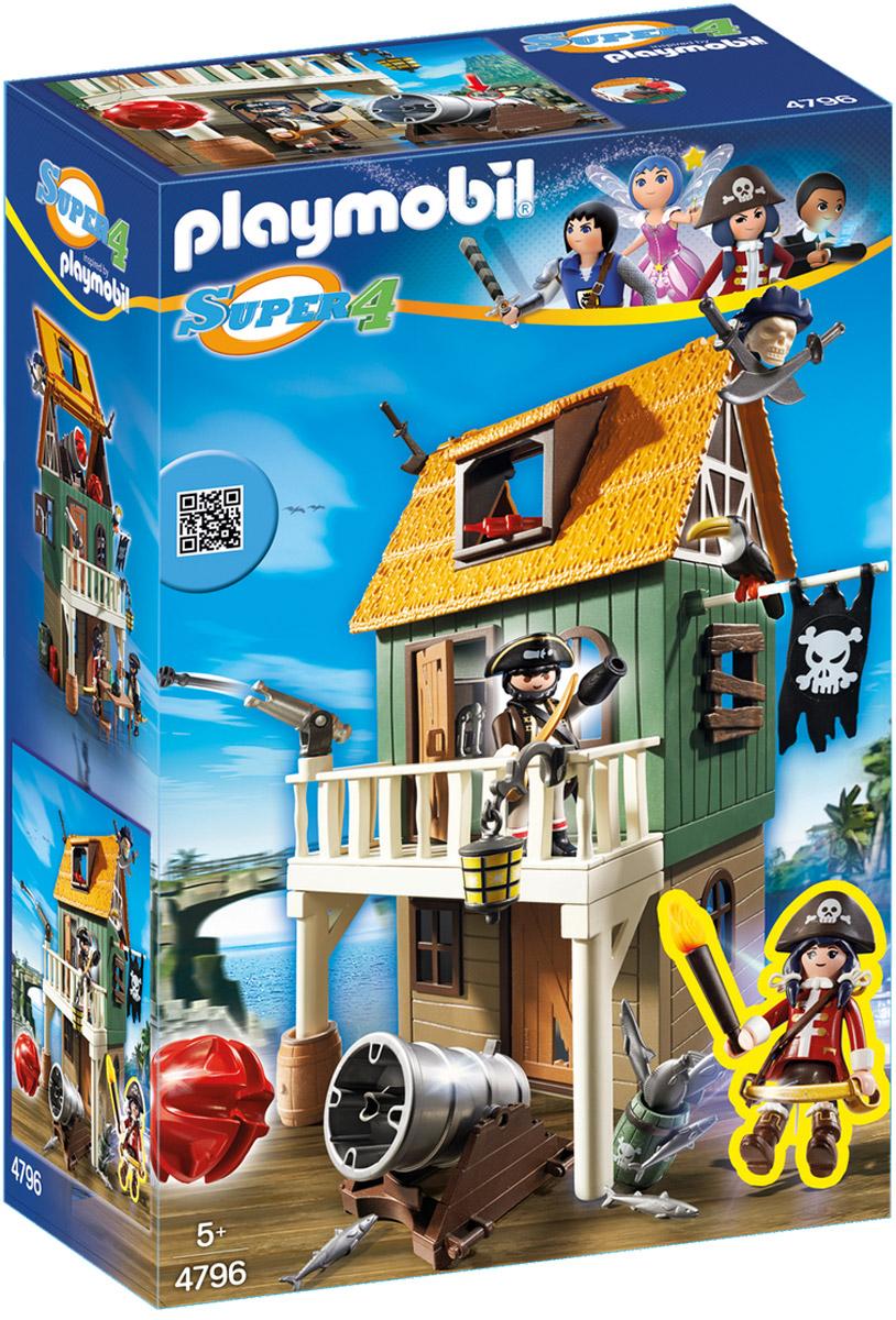 PlaymobilИгровой набор Замаскированный пиратский форт с Руби