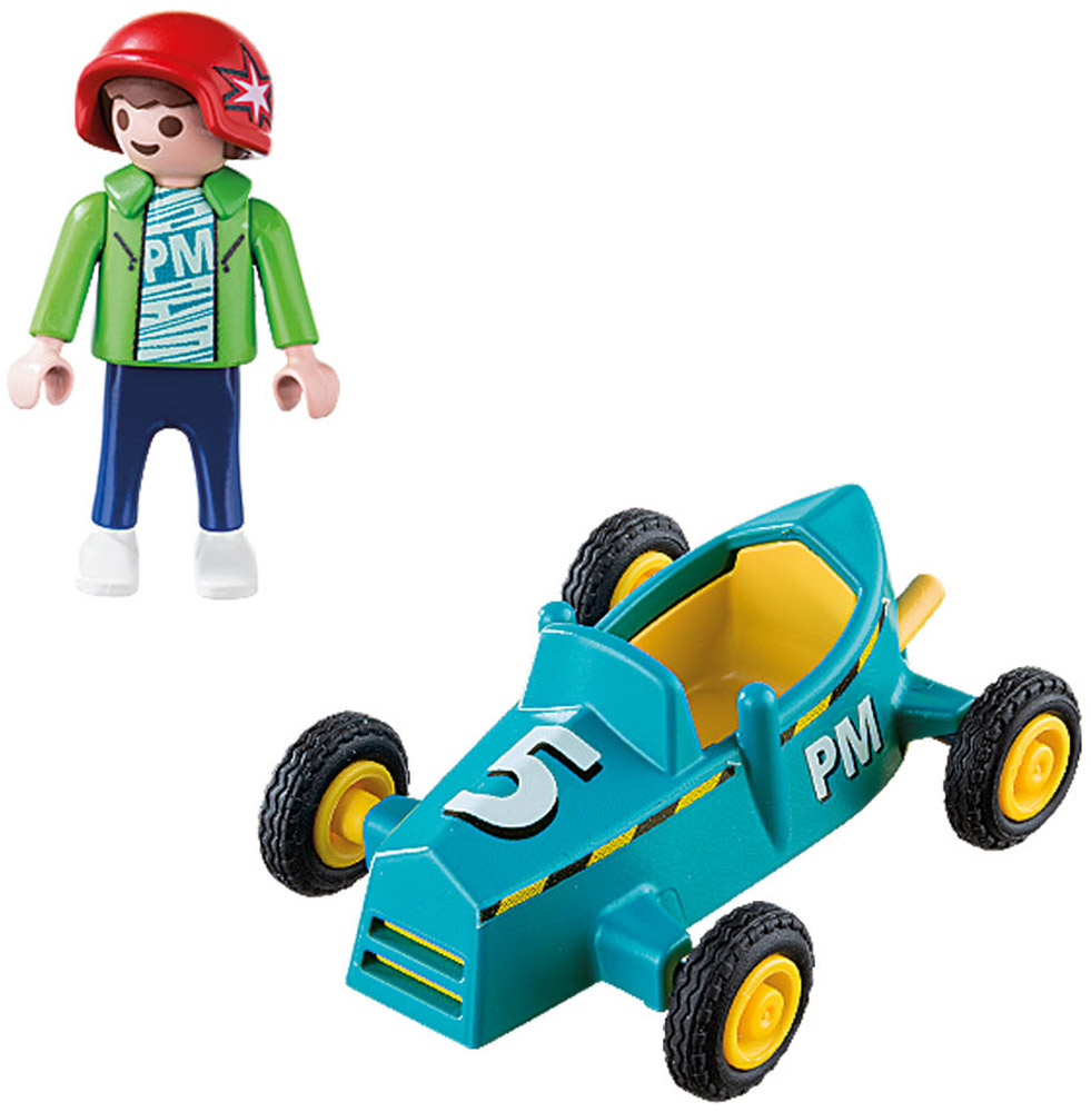 Playmobil Игровой набор Мальчик с картом