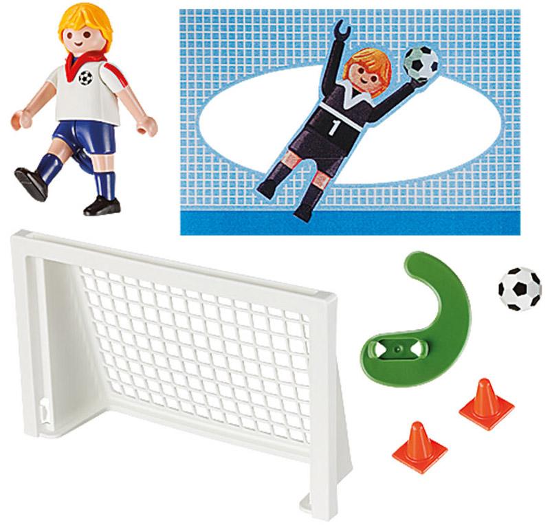Playmobil Игровой набор Футбол playmobil футбол игрок сборной англии