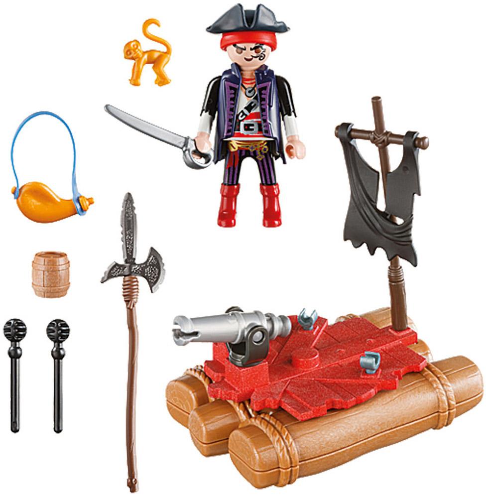 Playmobil Игровой набор Возьми с собой Пиратский плот playmobil игровой набор возьми с собой пиратский плот