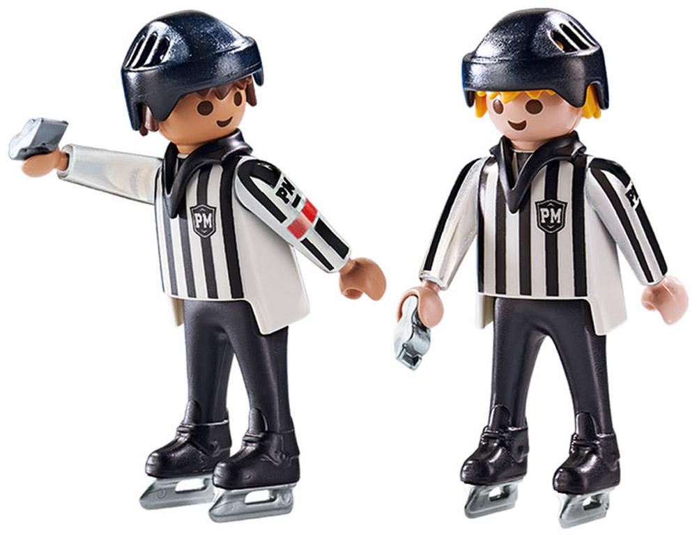 Playmobil Игровой набор Хоккейные арбитры  хоккейные игры серии 1 4