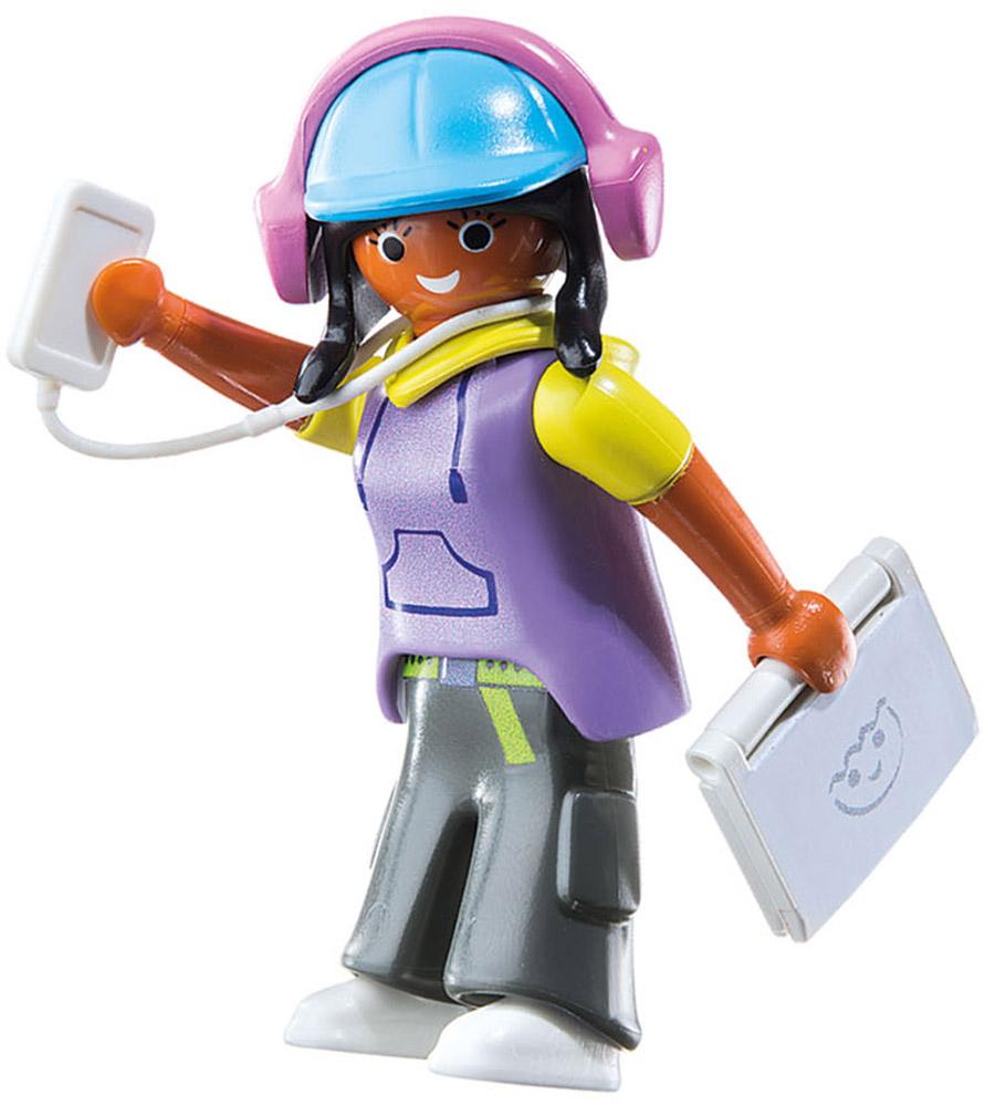 Playmobil Игровой набор Девушка с гаджетами playmobil® playmobil 5289 секретный агент мега робот с бластером