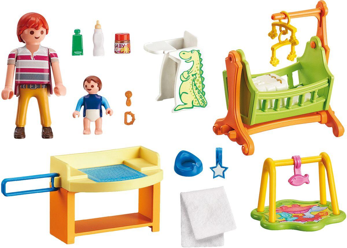 Playmobil Игровой набор Кукольный дом Детская комната с люлькой playmobil игровой набор кукольный дом детская комната для 2 детей