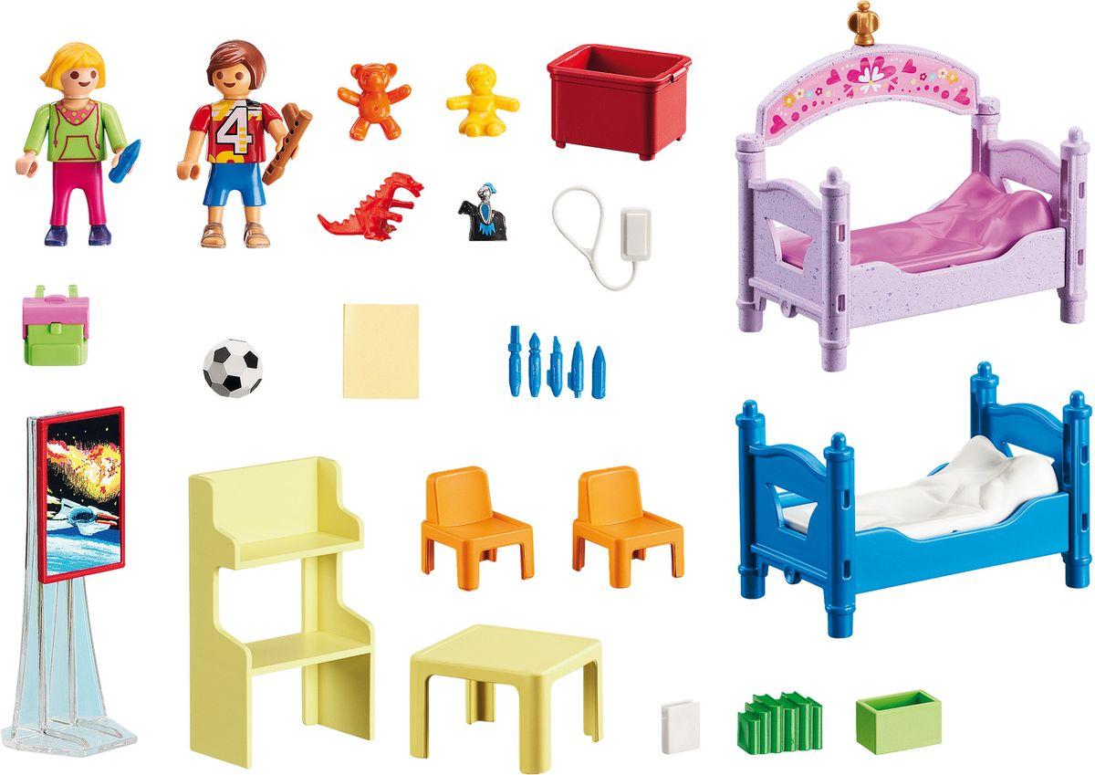 Playmobil Игровой набор Кукольный дом Детская комната для 2 детей playmobil® детская клиника рентгеновский кабинет playmobil