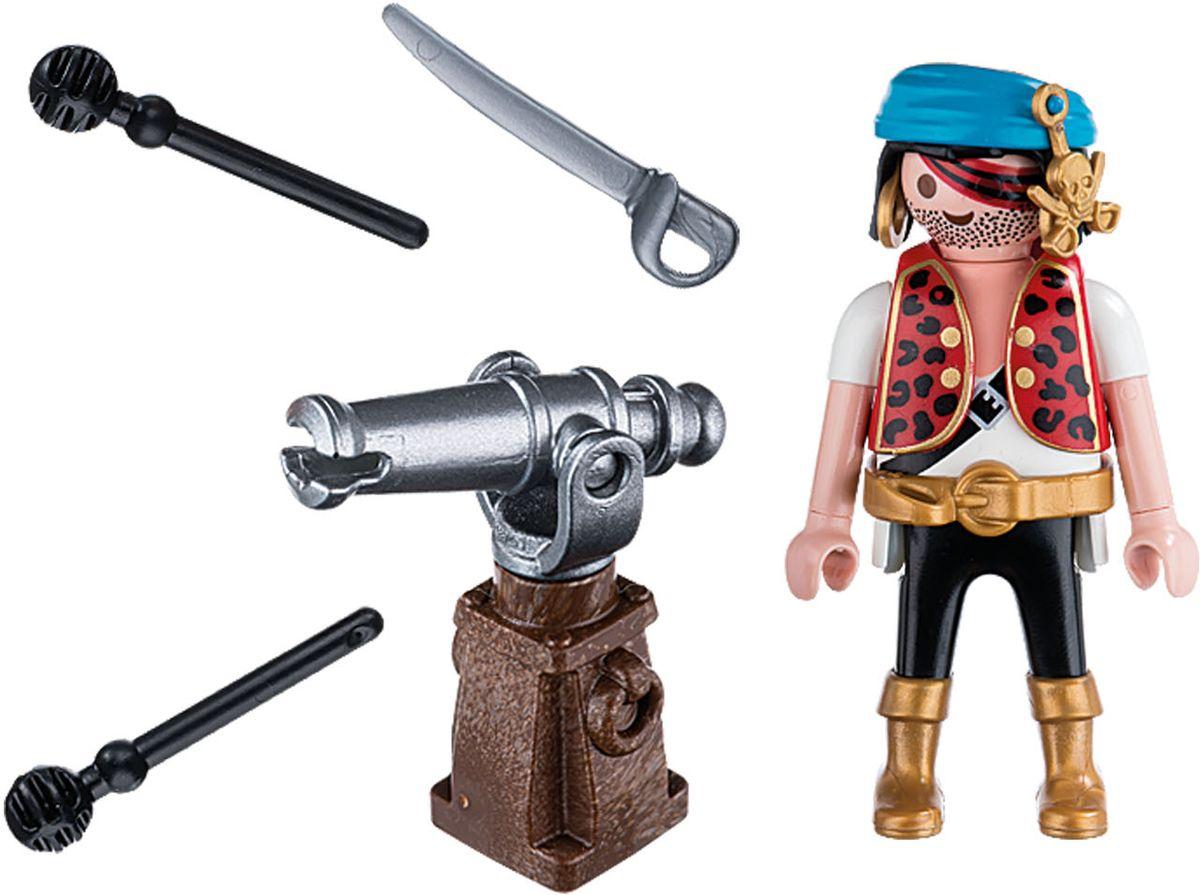 Playmobil Игровой набор Пират с пушкой особняк номер для гостей playmobil