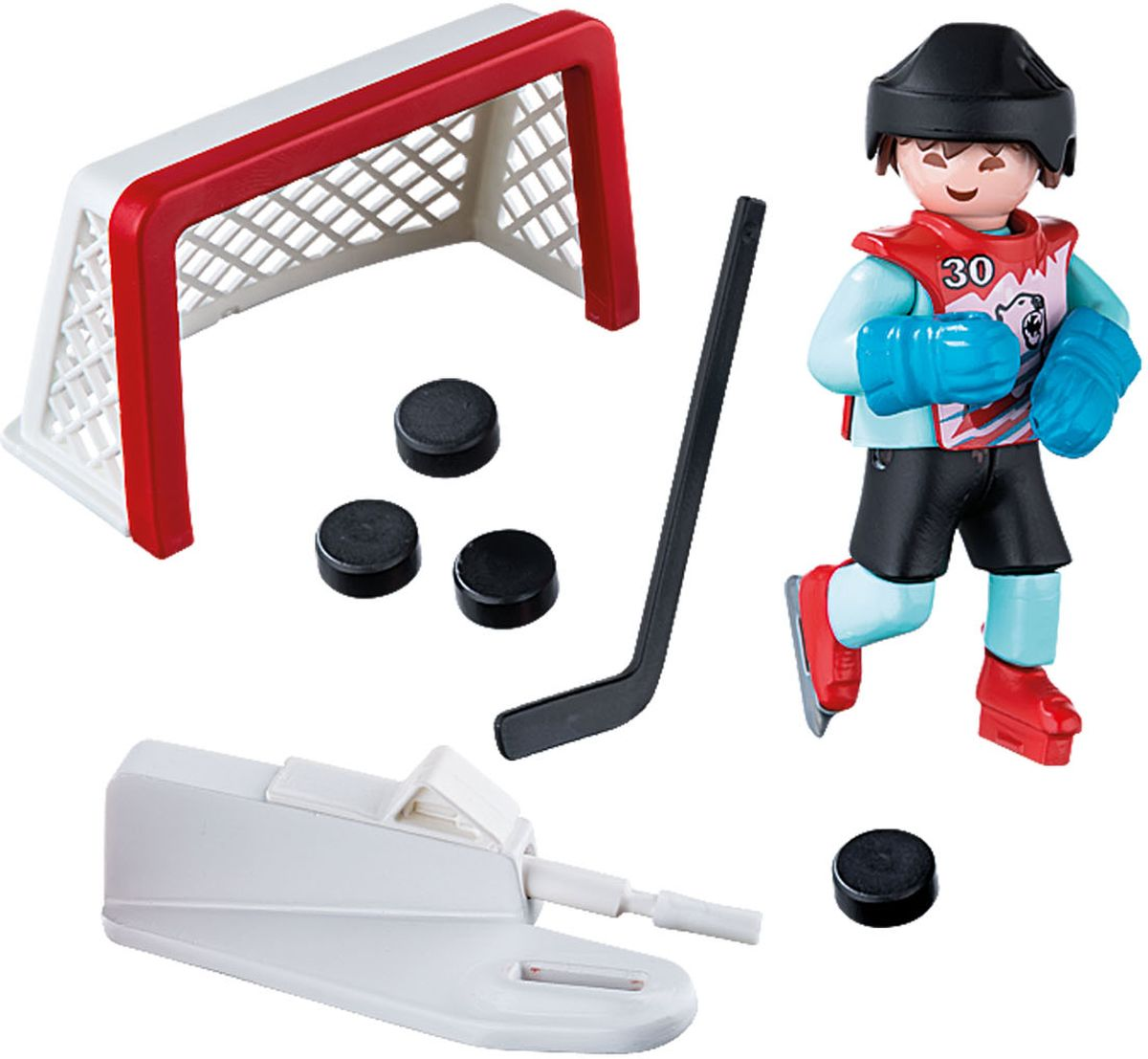 PlaymobilИгровой набор Тренировка хоккей Playmobil