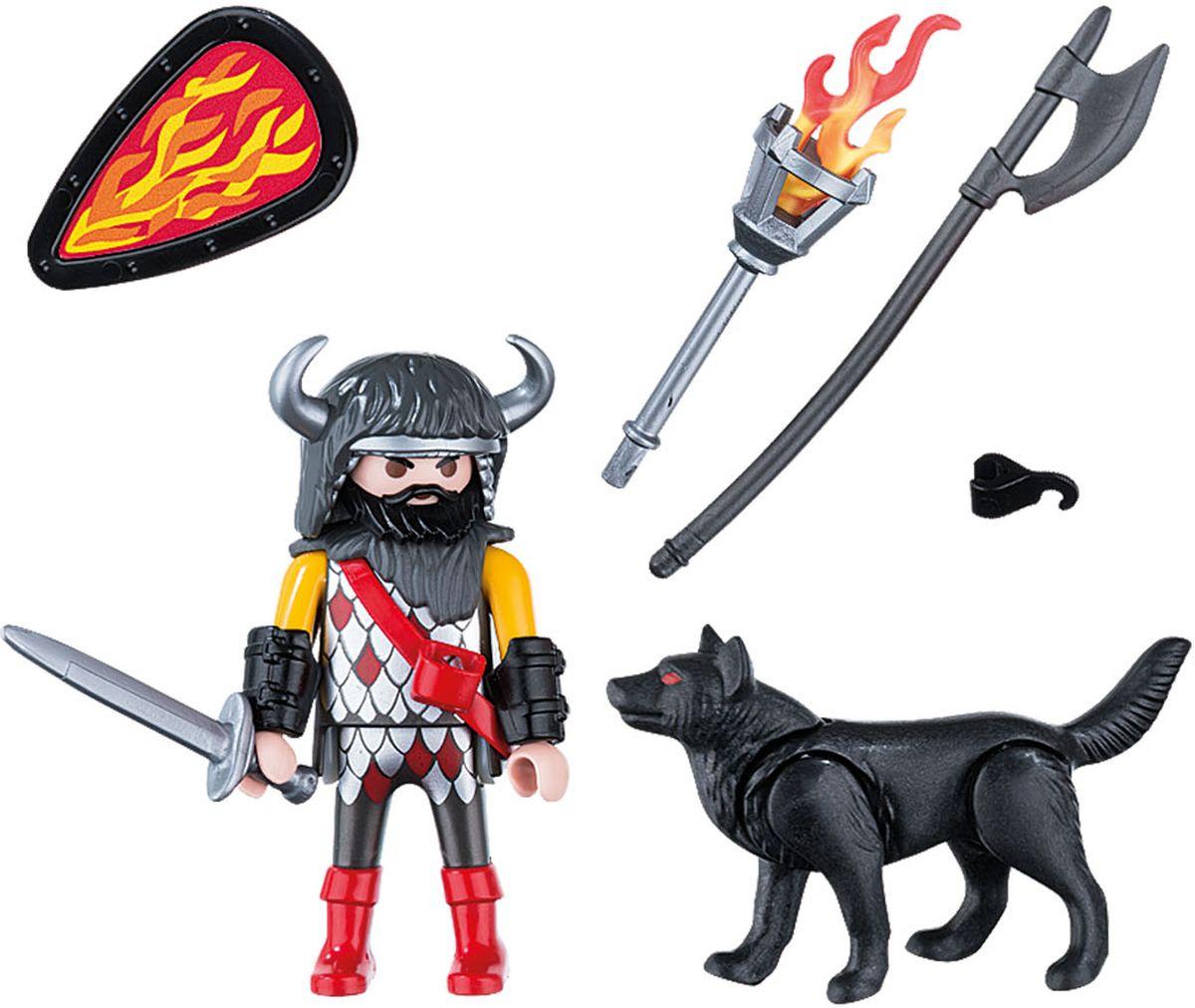 Playmobil Игровой набор Воин волка playmobil игровой набор пожарный квадроцикл