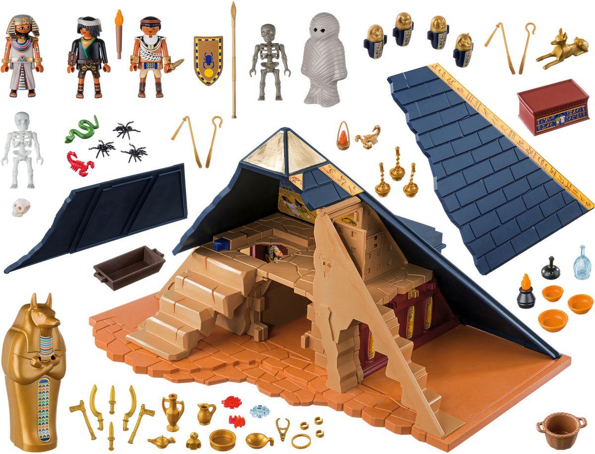 Playmobil Игровой набор Римляне и египтяне Пирамида Фараона playmobil игровой набор римляне и египтяне римское войско