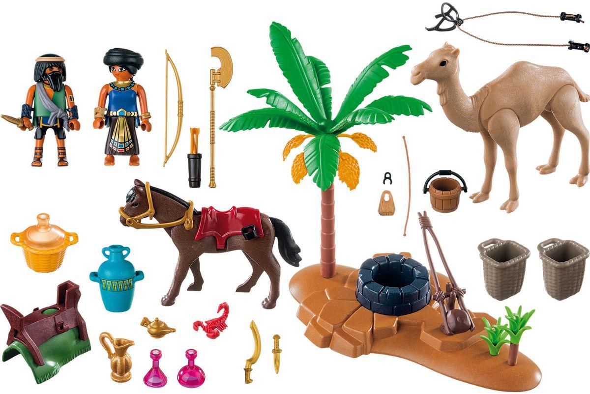 Playmobil Игровой набор Римляне и египтяне Лагерь расхитителей гробниц playmobil игровой набор африка антилопы гну
